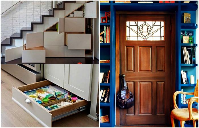 Оригинальные идеи, которые помогут заполнить пустующие пространства.