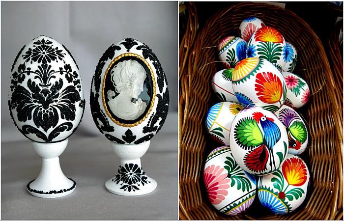 Потрясающие примеры декора яиц к празднику Пасхи.