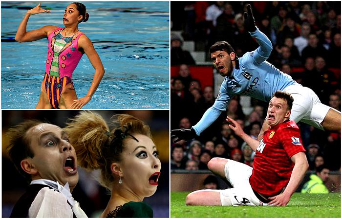 Забавные фотографии, демонстрирующие неподдельные эмоции спортсменов.