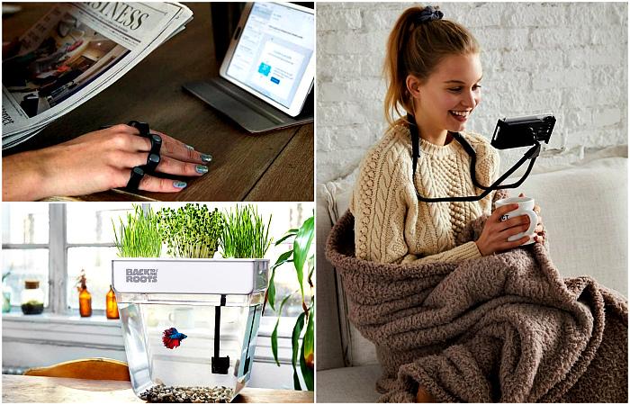 Маленькие современные изобретения, которые поднимут настроение и улучшат быт.
