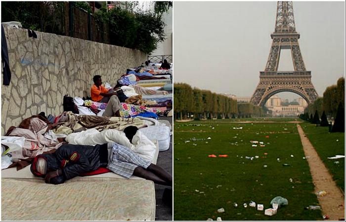 Чем Париж разочаровывает туристов.