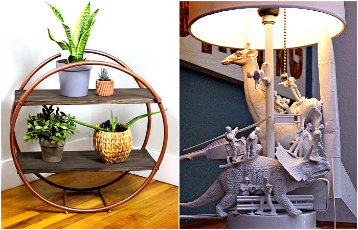 Оригинальные поделки для дома, которые можно сделать своими руками.