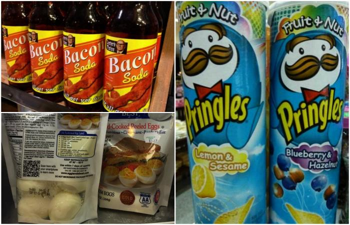 Необычные продукты, которые есть только в Америке.