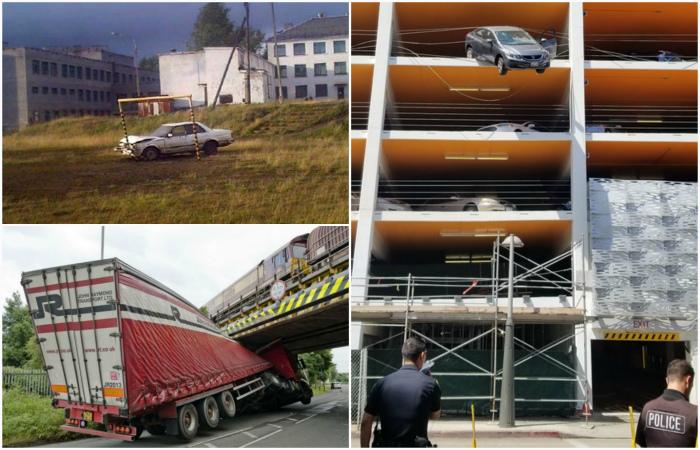 Загадочные происшествия, связанные с автомобилями.