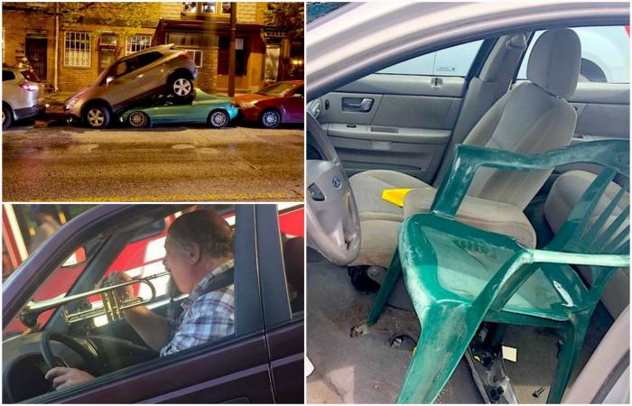 Нелепые ситуации и нерадивые водители.