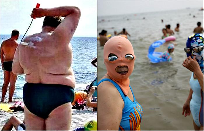 частные фото русских девушек на пляже