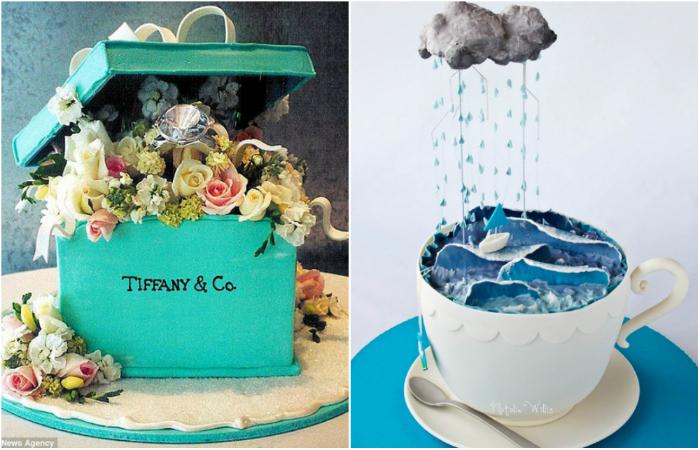 Шикарные торты, которые украсят любое торжество.