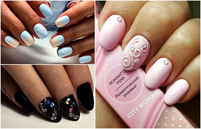 Актуальные идеи дизайна ногтей.