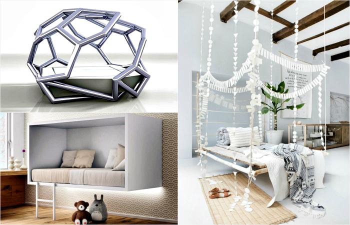 Фантастические дизайнерские кровати для любых спален.