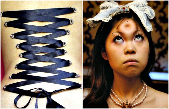Модные модификации человеческого тела.