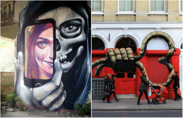 Уличные картины, которые раскрывают правду жизни.