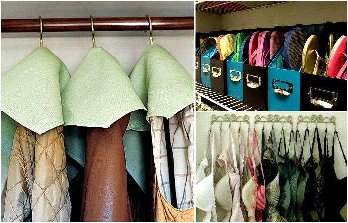 Блестящие советы, которые помогут навести порядок в шкафу.