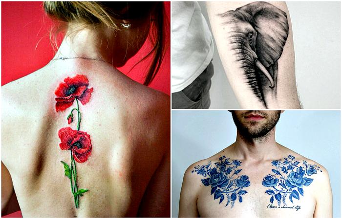 Невероятные идеи татуировок для смелых и ярких личностей.