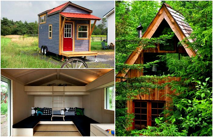 Уютные домики, доказывающие, что размер не имеет значения.