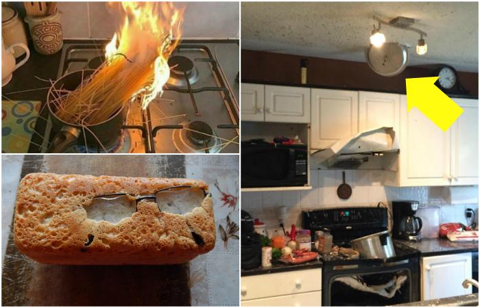 Настоящие катастрофы, которые случились на кухне.