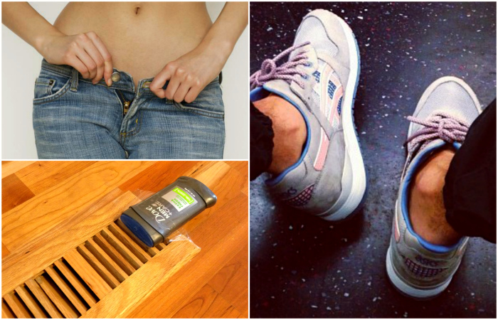 Хитрые способы использования дезодоранта.