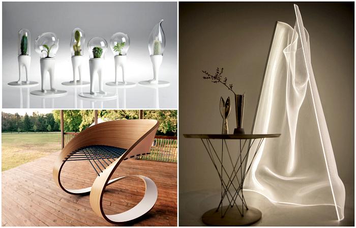 Потрясающие дизайнерские штуковины для дома.