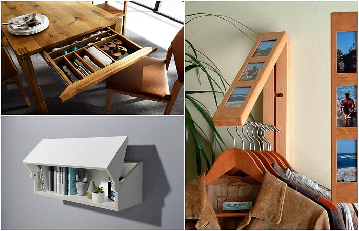Гениальная мебель, которая нужна всем владельцам маленьких квартир.