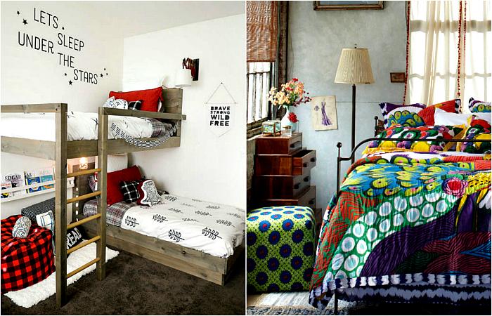 Чудесные примеры обустройства маленьких спален.