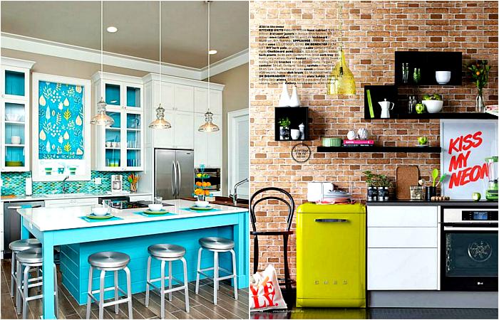 Стильные и современные кухни.