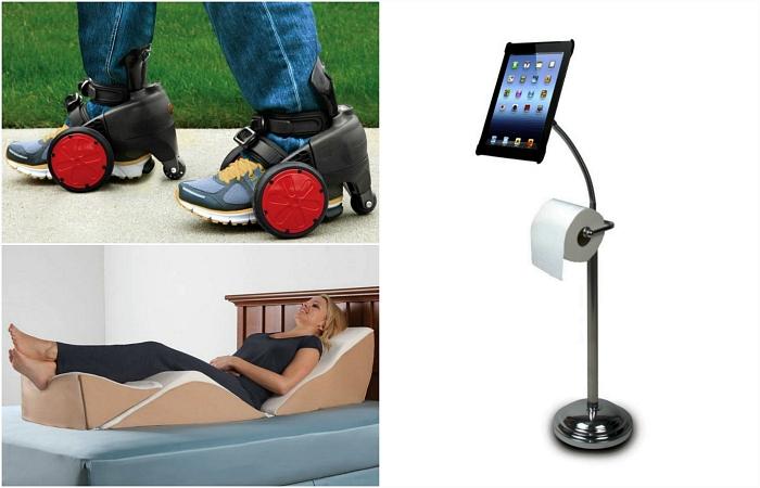 Гениальные изобретения для лентяев.