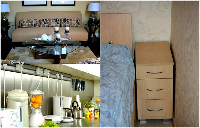 Мебель и предметы декора, от которых владельцам маленьких квартир лучше отказаться.