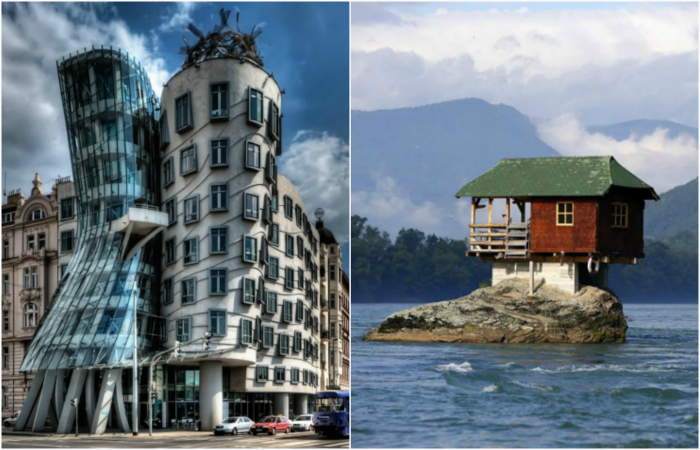 Потрясающие жилые дома со всего мира.