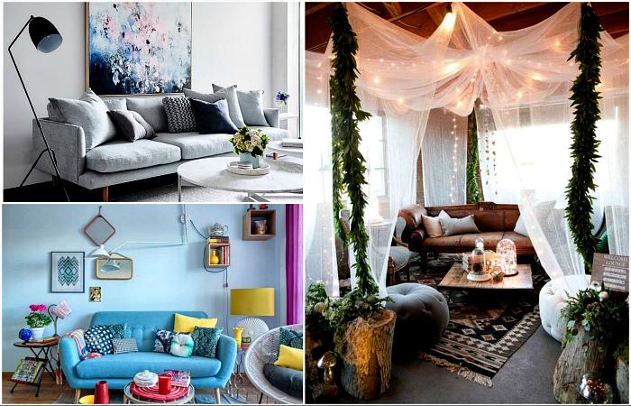 Актуальные идеи оформления стильной и функциональной гостиной.