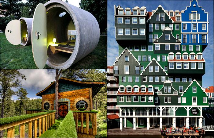 Концептуальные гостиницы, которые стоит посетить заядлым путешественникам.
