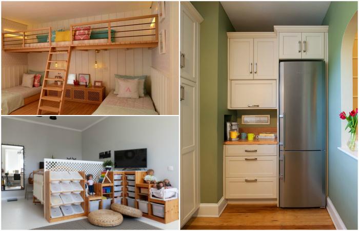 Обустройство однокомнатной квартиры для 4+ человек.