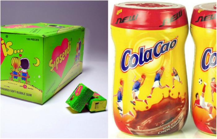 Любимые продукты из 90-х.
