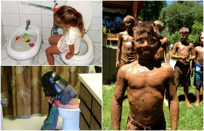 Жизненные снимки, доказывающие, что жизнь с детьми - это вечный праздник.