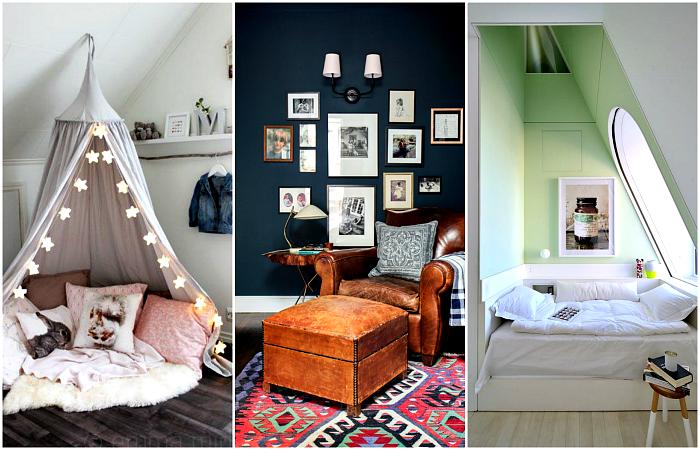 Вдохновляющие примеры обустройства уютного уголка для отдыха.
