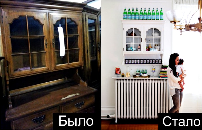 Фантастические идеи тотальной трансформации старой мебели.