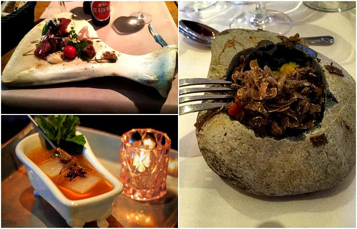 Примеры нестандартного подхода к сервировке и подаче блюд.