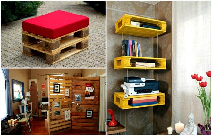 Творческие идеи использования деревянных поддонов для обустройства дома и дачи.