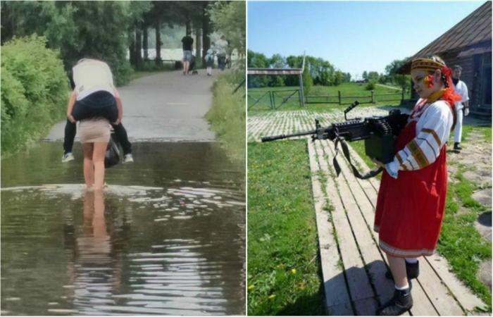 Снимки, доказывающие, что женщины могут все.