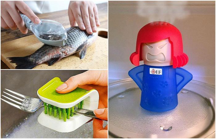 Полезные гаджеты, которые помогут поддерживать порядок в кухне.