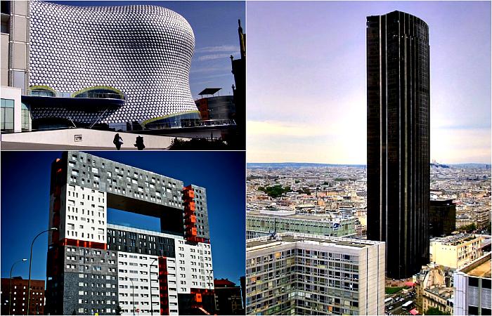 Самые некрасивые здания планеты.