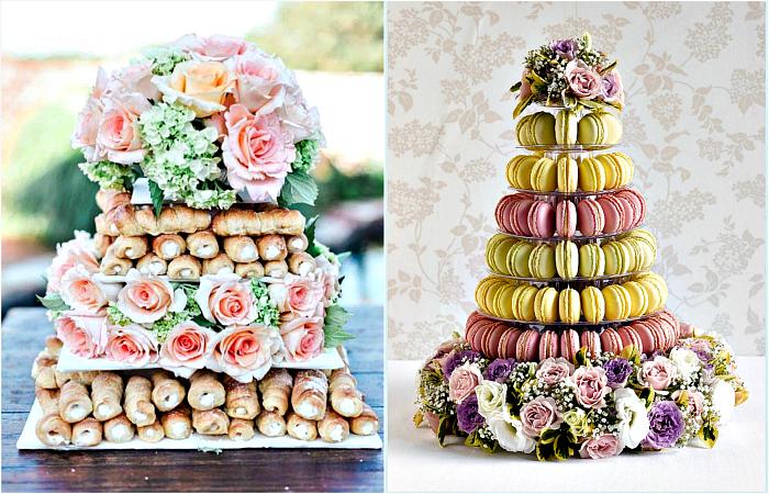 Оригинальные свадебные десерты.