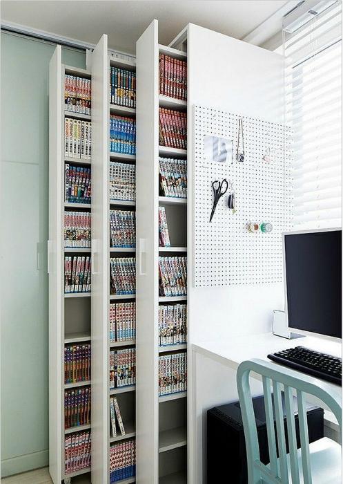 Узкий вертикальный шкаф. | Фото: Dreamsscape.