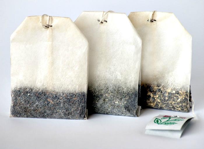 Чайные пакетики и упаковки чая. | Фото: corfufoundation.org.