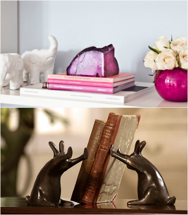 Креативные держатели для книг.