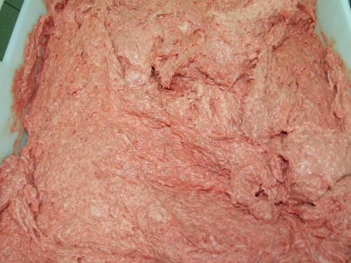 Мясо, используемое для производства колбас и консервов.