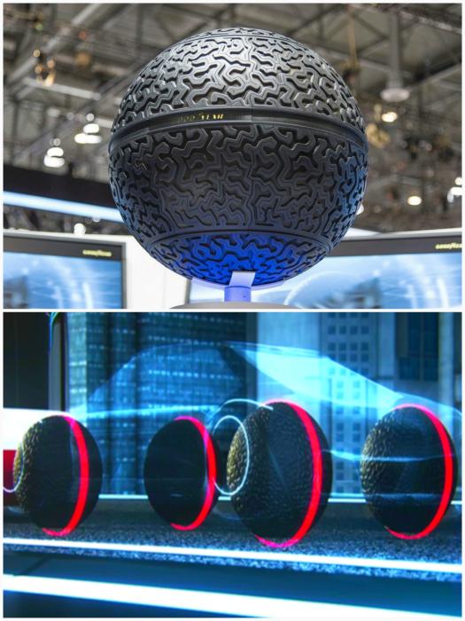 Сферические шины Goodyear Eagle-360.