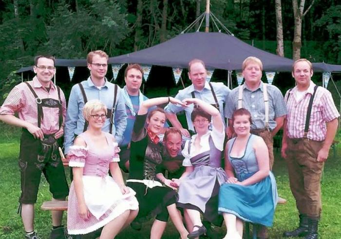 Национальные костюмы в Германии. | Фото: Gds.