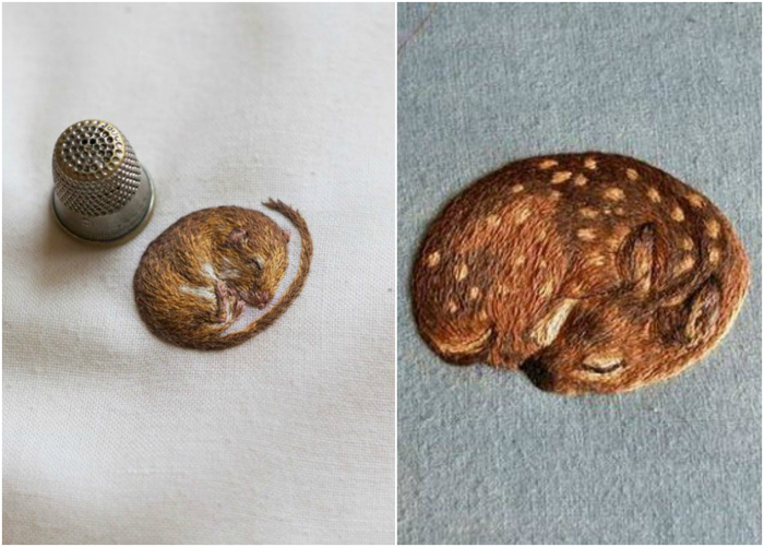 Миниатюрные изображения животных.