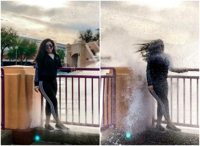 Судьба-злодейка подмочила кадр.| Фото: Pinterest.