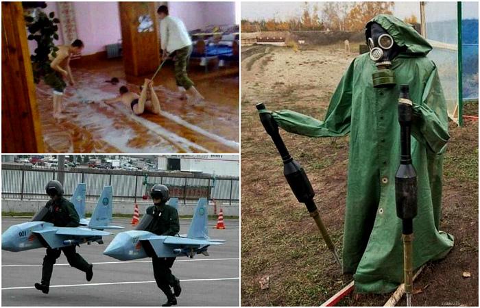 Снимки, доказывающие, что наша армия - самая суровая.