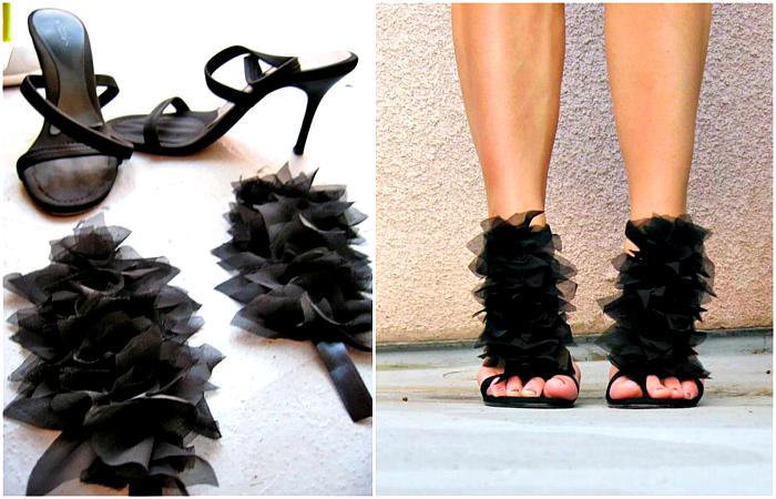 Интересные идеи преображения и обновления обуви.